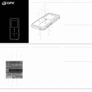Gpx Mp3 Player Ml640 User Guide