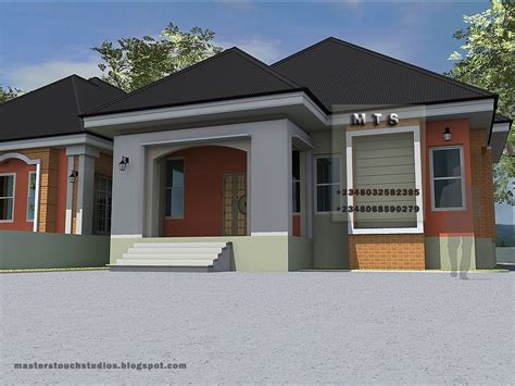 3 Bedroom Twin Bungalow  Modern And Contemporary Nigerian