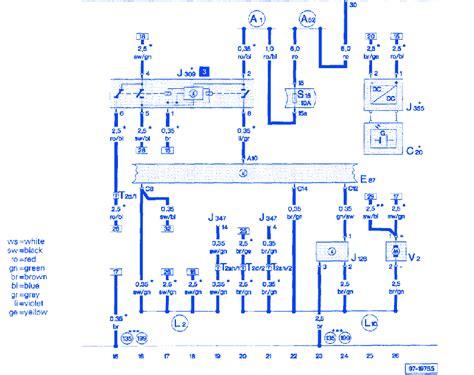Audi Wiring Diagram 1999 by Audi A6 Quattro 2 8 1999 Electrical Circuit Wiring Diagram