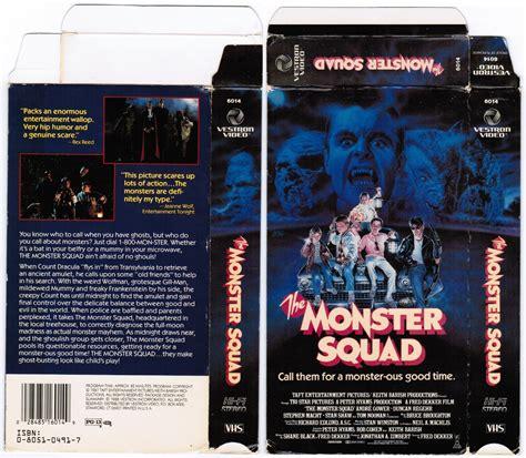 monster squad  vhs holy grail branded
