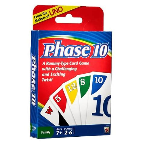 Strategies for collectible and traditional card games from passionate players. Phase 10 Card Game - Mattel - Games - Games at ...