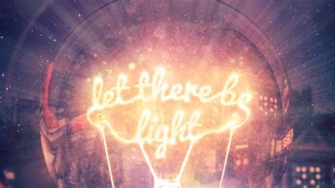 let there be light north point
