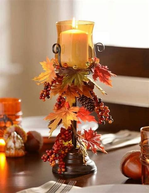 how to decorate a table for fall 20 easy thanksgiving decorations for your home