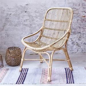 Fauteuil Exterieur Osier : fauteuil en rotin et osier pas cher chaise exotique ~ Premium-room.com Idées de Décoration