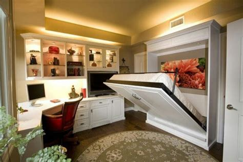 home office guest bedroom combo combo office guest room with murphy bed home and decor