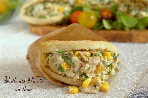 recette de cuisine marocaine facile batbouts farcis au thon amour de cuisine
