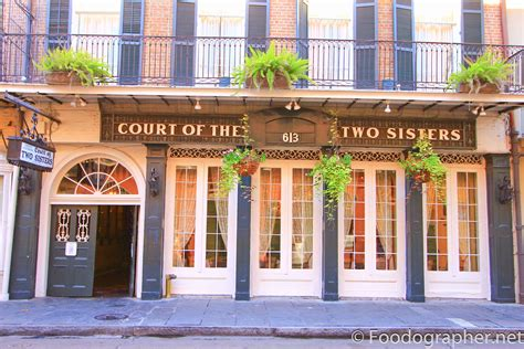 Court Of Two Sisters In New Orleans The Foodographer