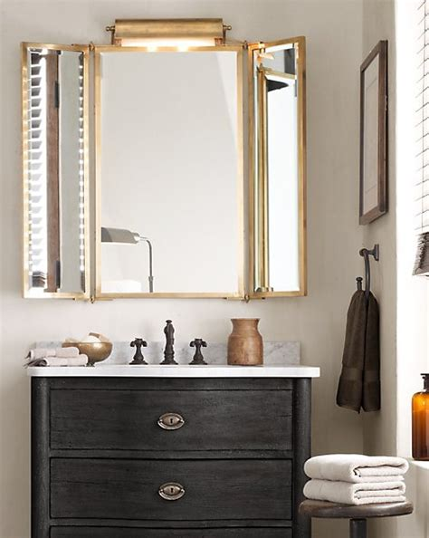 Tri Fold Bathroom Wall Mirror by 1000 Images About Tri Fold Vanity Mirror On
