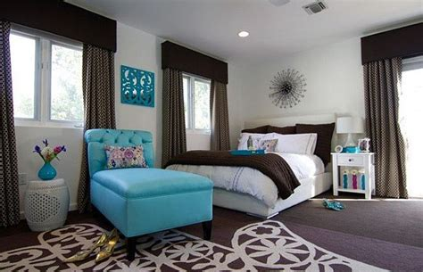 aqua blue bedroom ideas muddy tracks decorating with brown brings out the best