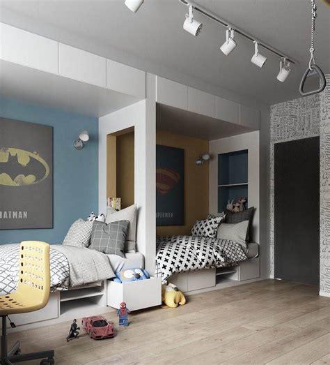 chambre a deux lits amenagement chambre 2 enfants 28 images id 233 es de