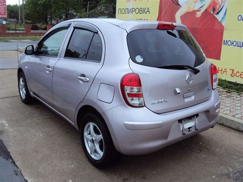 Nissan March Photo by Used 2010 Nissan March Photos 1300cc Gasoline