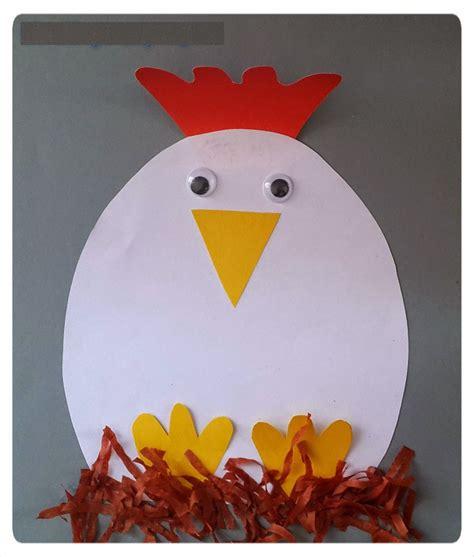 hen craft idea for crafts and worksheets for 962 | 4dc124066c1d7124366c31ddddd199cd