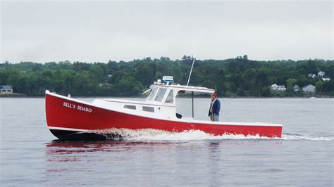 Lobster Boat Engines by 32 A Classic Maine Lobsterboat Done Right New
