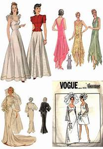 ideas on wedding dress patterns sang maestro With vintage wedding dress patterns