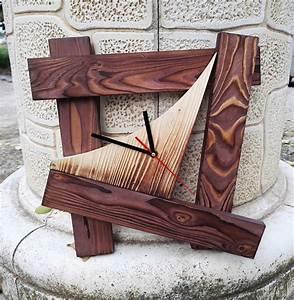 Wanduhr Xxl Holz : uhren wanduhr holz uhren uhr wanduhr design geschenk uhr ein designerst ck von mueller ~ Frokenaadalensverden.com Haus und Dekorationen