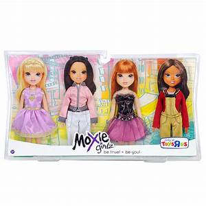 Moxie Girlz Doll Fashion Outfits 4 Pack Dresses Pant