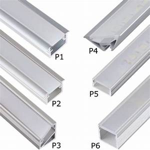 Led Leiste Decke : led aluprofil aluminium led profile 2m 1m alu schiene leiste f r led streifen ebay ~ Sanjose-hotels-ca.com Haus und Dekorationen