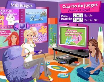 Barbie divertidos juegos videos y actividades para ninas. Videojuegos Online: Juega con Barbie por Internet