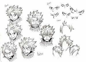 Natsu Smiling Drawing images