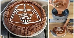 STAR WARS: Darth Vader Schokoladenkuchen!