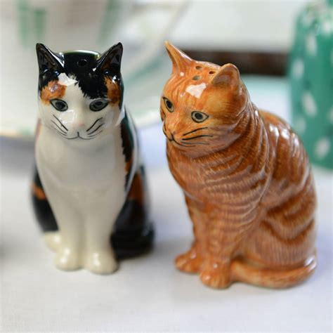 salt ls and cats cat salt and pepper pots by home glory