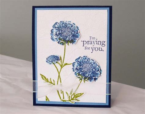 stampin  field  flowers