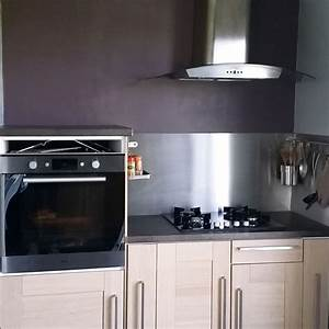 Stunning k chenr ckwand edelstahl optik ideas house for Küchenrückwand edelstahl optik
