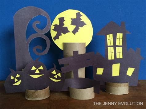 Diy Decorative Halloween Paper Craft  The Jenny Evolution