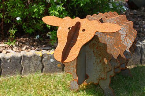 Gartendeko Edelrost by Gartendeko Schaf Mit Edelrost Als Geschenk Gartendeko