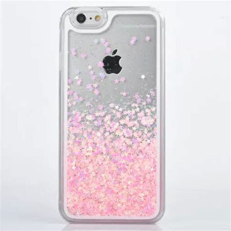 glitter iphone 5 for iphone 5s transparent pc cover dynamic