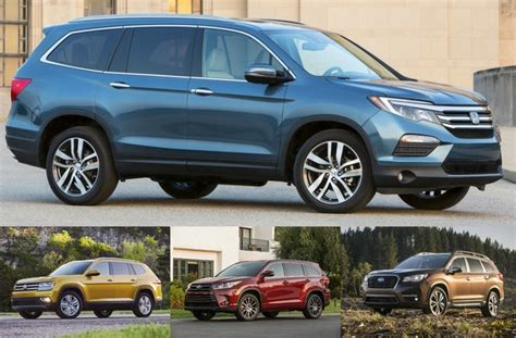 Cheapest Suv In America by 16 Cheapest 3 Row Suvs U S News World Report