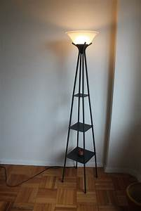 floor lamps with shelves decofurnish With chrome floor lamp with shelves