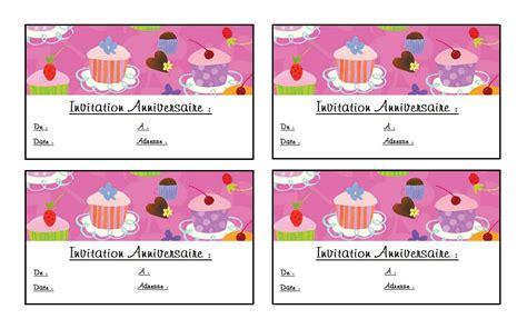 jeu de cuisine gratuit pour filles d invitation anniversaire gratuit à imprimer