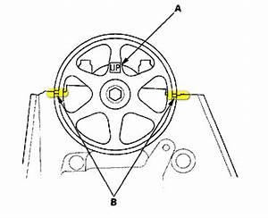 1997 Honda Accord Need Diagram For Timing Belt Marks