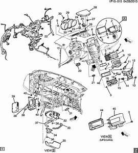 Chevrolet Cruze Enginepartment Diagram