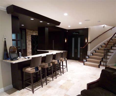 level bar contemporary living room detroit