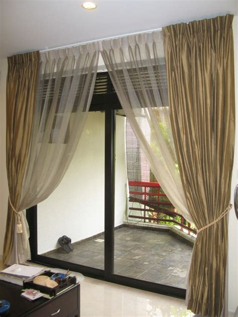 drapes sliding patio doors top 25 best sliding door curtains ideas on