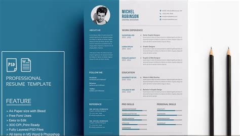 modern resume templates docx   recruiters awe job