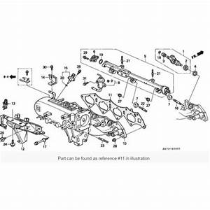 Honda Oem B Series B16a  B18cr Intake Manifold Gasket