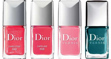 J'adore Dior Summer Mix Nail Polish!