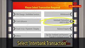 Ambank Atm Interbank Funds Transfer  Ibft  Guide