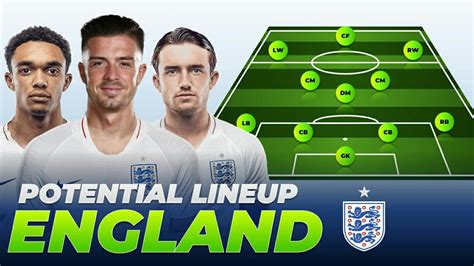 The 16th uefa euro championship, will be held in 12 countries all across europe, between june 11th and july 11th 2021. ENGLAND Potential Lineup for UEFA EURO 2021 - YouTube