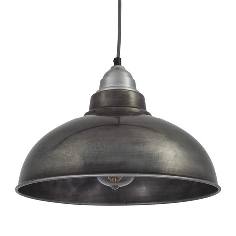 vintage kitchen pendant lighting vintage style pendant light grey pewter with 12 inch 6828