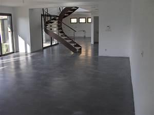 beton cire loire saint etienne bpp42 With beton ciré carrelage sol