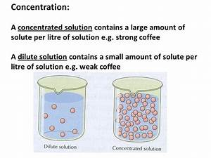 What Is The Definition Of A Concentrated Acid