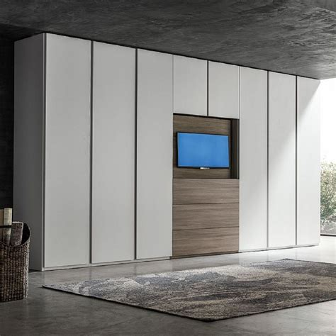 Big Wardrobe by Big Wardrobe With Tv Unit Hugo By Santa Lucia Bedroom