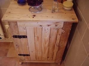 Petit Meuble En Bois : fabrication d 39 un petit meuble en bois de r cup par kastepat sur l 39 air du bois ~ Teatrodelosmanantiales.com Idées de Décoration