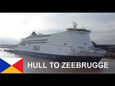 Ferry Zeebrugge Dover by P O Ferries Zeebrugge Hull