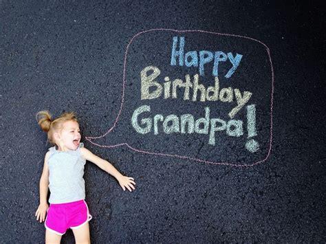 chalk birthday card card  grandparent happy