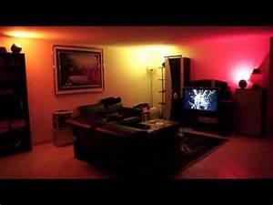 Living Colors Hue : philips living colors 2 gen demo of multiple lamps in a living room youtube ~ Eleganceandgraceweddings.com Haus und Dekorationen